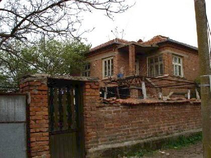 Two storey brick built up house for sale in Elhovo region,Land in Bulgaria, Bulgarian land, land near Elhovo, Bulgarian property, property land, property in Bulgaria, property near mountain, Land in Yambol region, land near Elhovo, Elhovo property, property investment, investment
