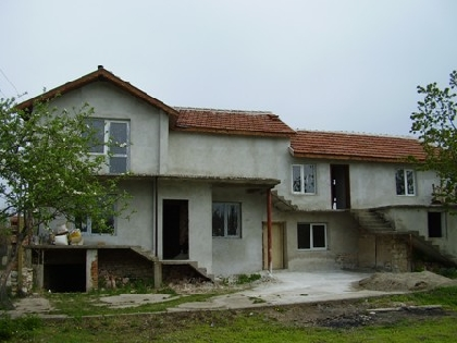 A newly two storey built up house near Pleven