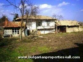 Old rural house near Black Sea coast.